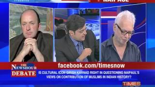 The Newshour Debate: Karnad challenges Naipaul - Part 2 of 2