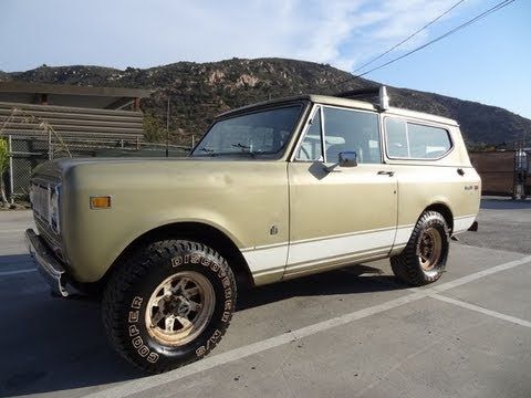 International Scout II 2 Bronco ? JEEP ? NO Harvester XLC Power 2 Door SUV 4x4 1 Owner