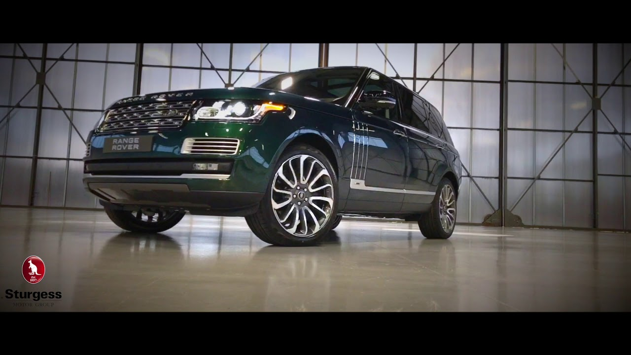 Range Rover Paint >> Range Rover SV Autobiography LWB - Spectral British Racing Green Chromaflair - YouTube