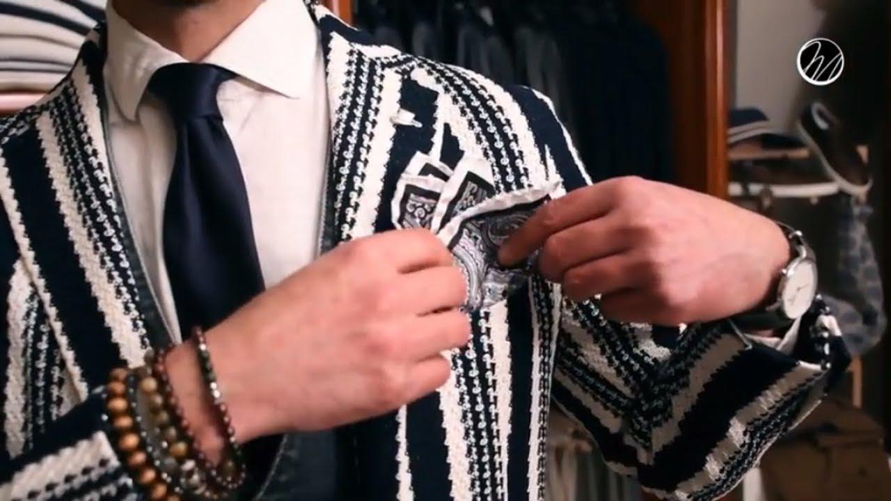 Come indossare una pochette da uomo • Sent-In