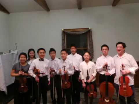 Ambler Youth Chamber Orchestra, Feb. 2017, Haydn String Quartet op77, No.1