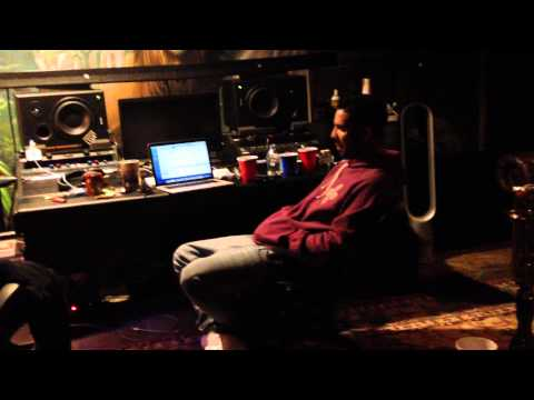 Life of Artist Manager: At Drake's Home Studio Working on New Music
