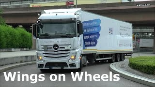 "Hilfskonvoi ""Wings on Wheels"" Convoy of Hope 2015 Actros Daimler Trucks, Mercedes-Benz, Syria Syrien"