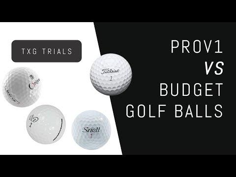 Titleist Prov1 VS Budget Golf Balls