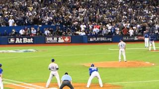 My view of Jose Bautista's Game 5 home run - Blue Jays vs. Rangers 10/14