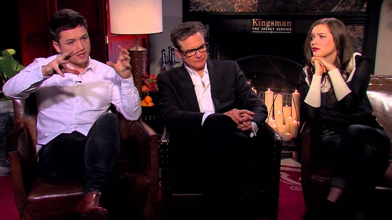 Kingsman The Secret Service Interview: Kingsman: The Secret Service Behind-The-Scenes Interview
