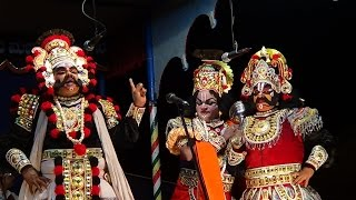 Yakshagana -- Shrikrishna x Jarasandha - Maathugarike - 1