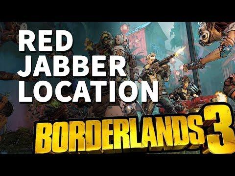 Red Jabber Location Borderlands 3