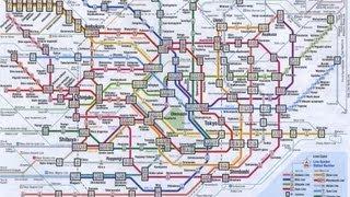 Tokyo Metro : Tokyo Subway Route Map