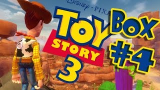 Toy Story 3 • Toy Box Mode Walkthrough Part 4 (PS3, X360, Wii)