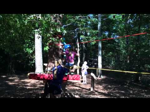 New Sapling Obstacle & Zipline Course at Callaway Gardens
