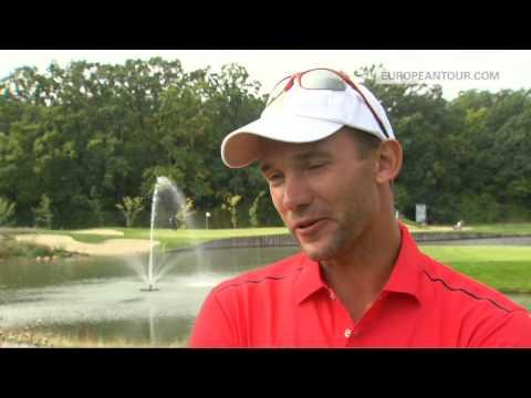 Andriy Shevchenko takes on the Challenge Tour
