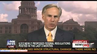 Texas AG Greg Abbott sues EPA over agency