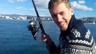 Рыбалка в Сочи в ноябре.