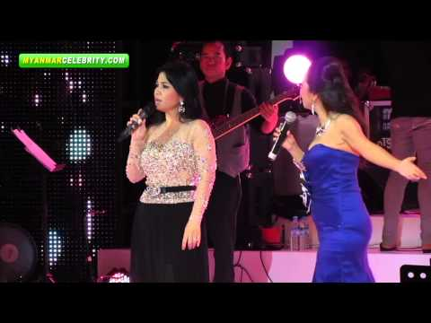 May Har, May Sweet & Tun Eaindra Bo Together on Stage - Part One