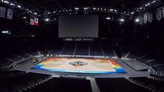 The 2019 ncaa women's basketball final four tournament begins friday in tampa. this week, workers transformed amalie arena from a hockey rink into college ...