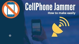 Cell Phone Jammer : EMP Jammer