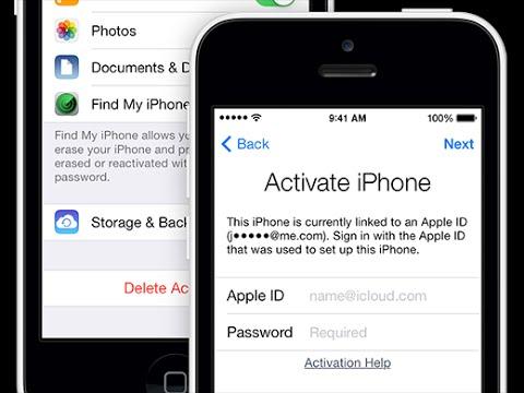 ลบ แก้ เปลี่ยน Apple iD iCloud iPhone 5 / iPhone 5s / iPhone 4s / iPhone 4 ปลดไอดี iPhone