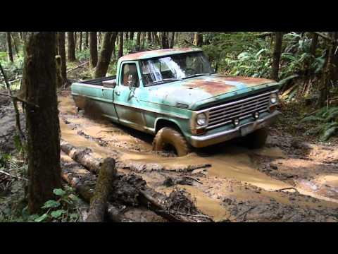 1967 Ford F100 Mudding 4x4 - YouTube  1967 Ford F100 ...