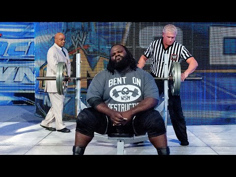 Superstar bench press challenges: WWE Playlist