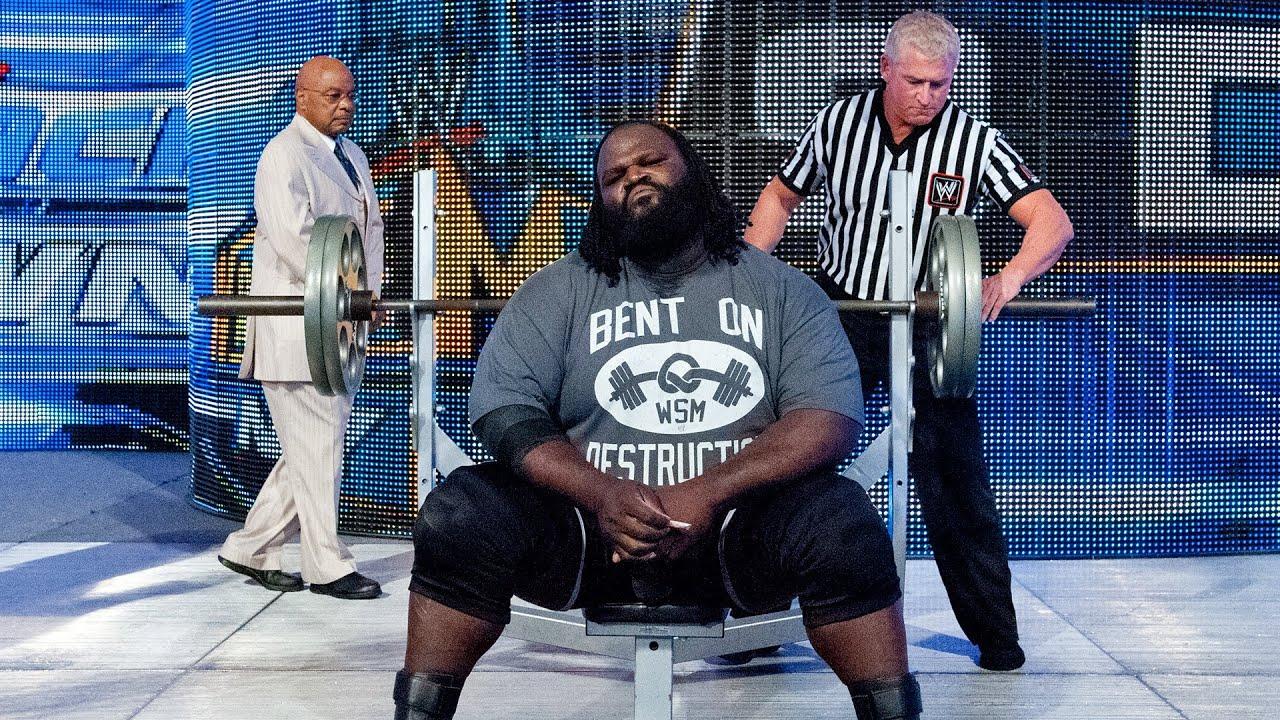 Superstar bench press challenges: WWE Playlist