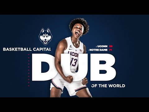 UConn Women's Basketball Highlights v. Notre Dame 12/02/2018 (Jimmy V Classic)