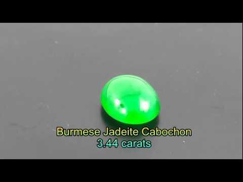 IYB0024 - Burmese Jadeite Cabochon 3.44 carats @JTCB2B.COM