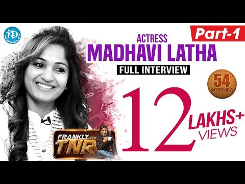 Actress Madhavi Latha Full Exclusive Interview || Frankly With TNR #54 || Talking Movies with iDream