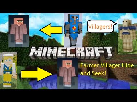 Minecraft Villager Hide And Seek 2 Birthday Skin Pack Youtube