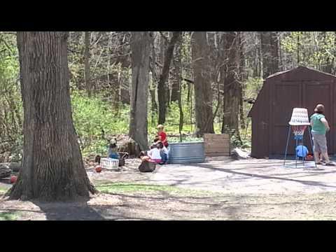 Hobson preschool sits by Goodrich Wood