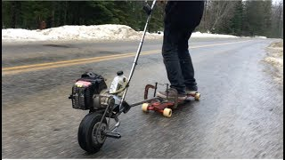 The Chainsaw Skateboard: PART 2