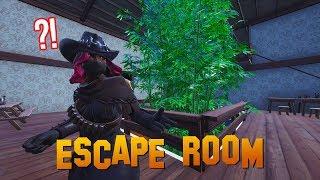 DEZE PUZZELS ZIJN SUPER LASTIG - Fortnite Escape Room