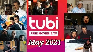 Tubi for Free in May 2021