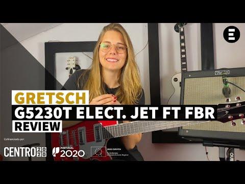 Guitarra eléctrica GRETSCH G5230T Electromatic  JET FT FBR | EGITANA.pt