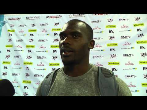 IAAF Diamond League Stockholm - Nesta Carter
