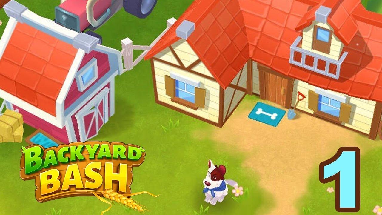 Backyard Bash Walkthrough Gameplay Part 1 Ios Android