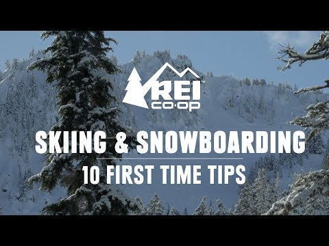 10 First Time Skiing And Snowboarding Tips || REI