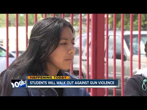 Students across San Diego plan to walk out against gun violence