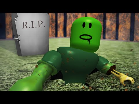 Roblox Adventures / Escape the Haunted Cemetery Obby / Attacked by Evil Zombies!