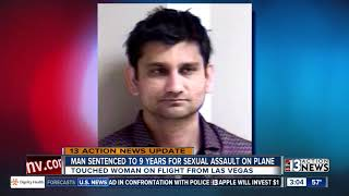 Download Video Man sentenced to 9 years in 'brazen' sex assault on flight from Las Vegas MP3 3GP MP4