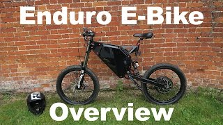 Enduro E Bike Overview