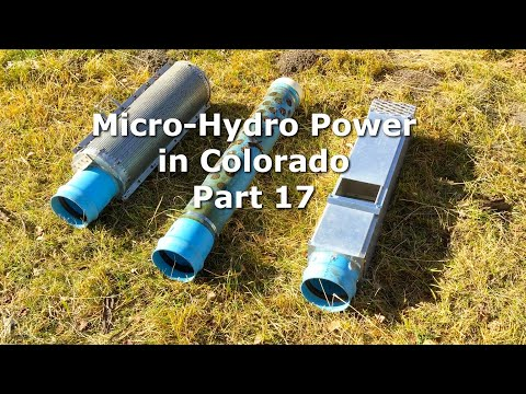Part 17 MicroHydro Power System in CO