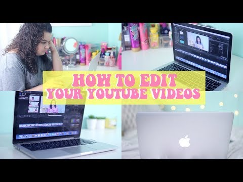 How To Edit Your YouTube videos! My Tips & Tricks! How I Edit 2017! - 동영상