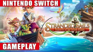 Stranded Sails - Explorers of the Cursed Islands Nintendo Switch Gameplay