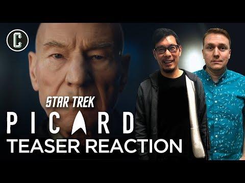 Star Trek: Picard Teaser Trailer Reaction & Review