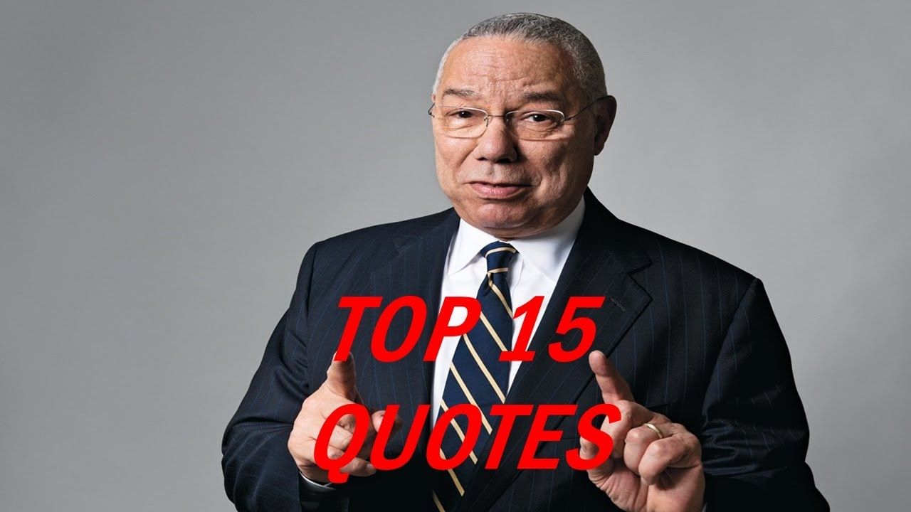 Colin Powell Quotes 3