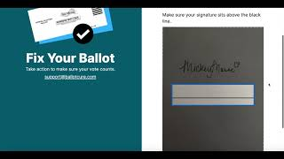 Ballot Cure How To
