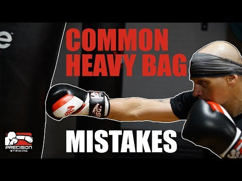 Common Heavy Bag Mistakes