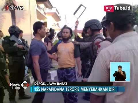 Detik-detik 155 Napi Teroris Serahkan Diri di Mako Brimob - iNews Siang 10/05