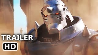 FULLMETAL ALCHEMIST Official Trailer (2017) Action Movie HD